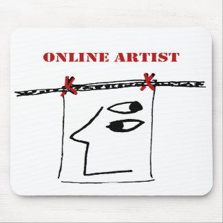 Online Artist Mouse Pad