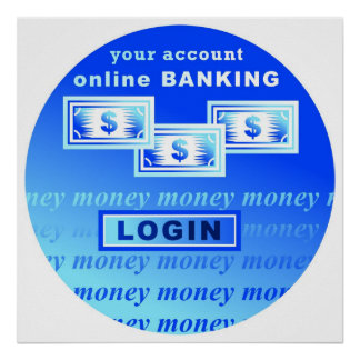Online Banking Poster