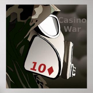 Online Casino Warfare Poster