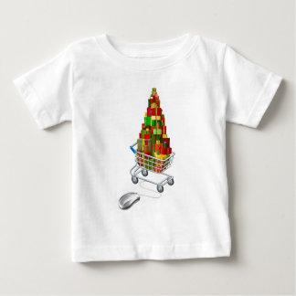 Online Christmas gift shopping T Shirt