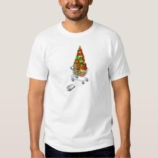 Online Christmas gift shopping Tshirt