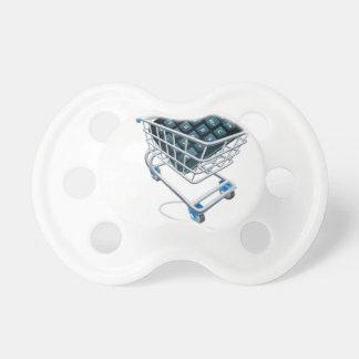 Online comparison concept pacifier