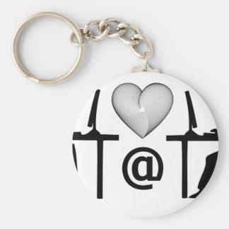 online dating basic round button keychain