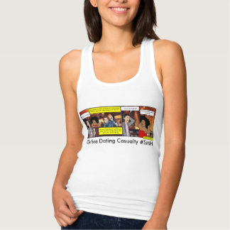 Online Dating Casualty Tank Top