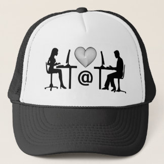 online dating trucker hat