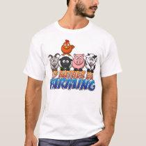 Online Farm Games, I'd Rather be Farming T-Shirt