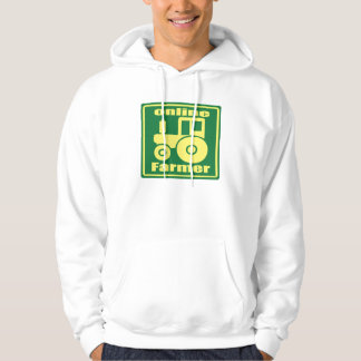 ONLINE FARMER green tractor Hoodie
