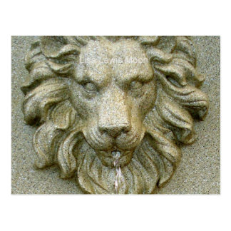 Online Fountain Lion Post Cards