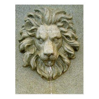 Online Fountain Lion Postcards