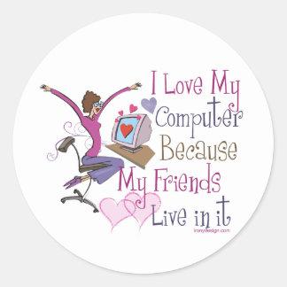 Online Friends Stickers