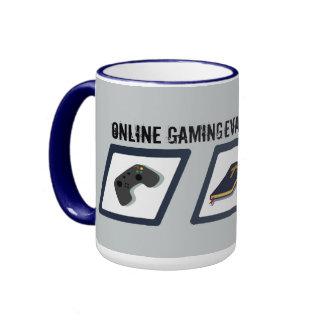 Online Gaming Evangelist Ringer Coffee Mug
