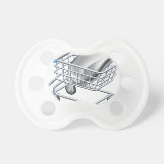 Online internet shopping concept pacifiers