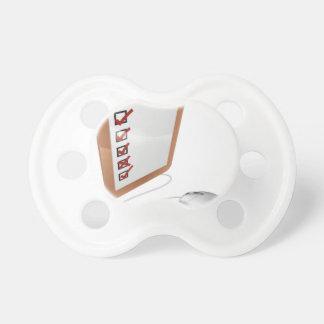 Online internet survey mouse baby pacifier