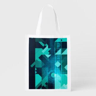 Online Marketing for Business Customer Online Reusable Grocery Bag