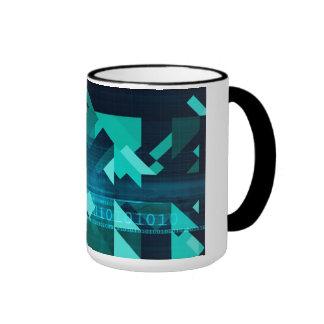 Online Marketing for Business Customer Online Ringer Mug