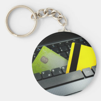 Online payment keychain
