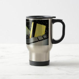 Online payment coffee mug