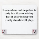 Online Poker Mouse Mats