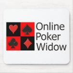 Online Poker Widow Mouse Pad
