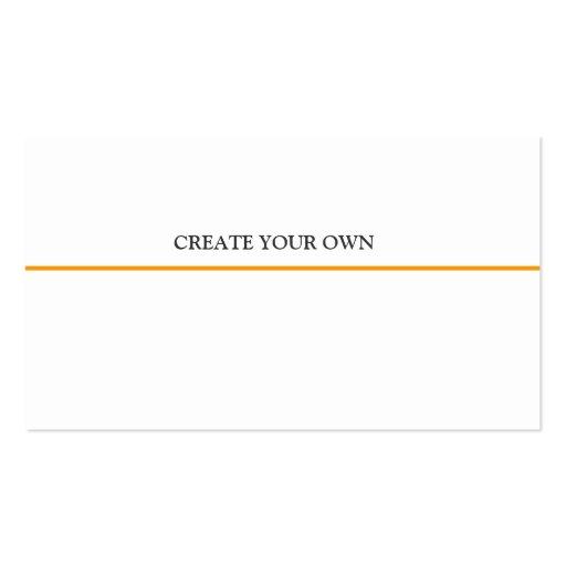Online professional design basic generic business card for Generic business cards