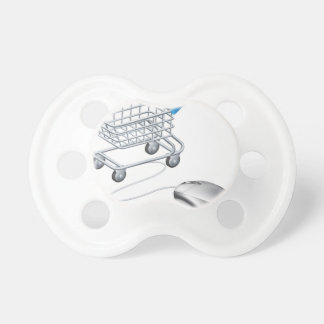 Online shopping cart mouse pacifiers