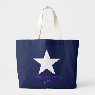 Online superstar large tote bag