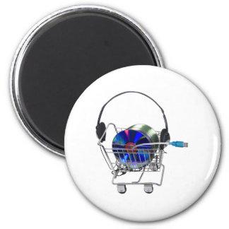 OnlineMusicShopping070709 Magnets