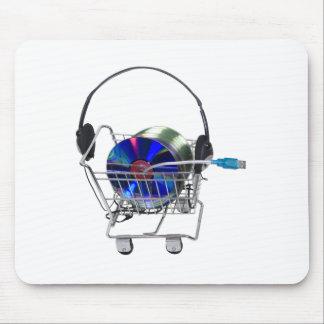 OnlineMusicShopping070709 Mouse Pad
