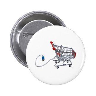 OnlineShopping040909 Pinback Button