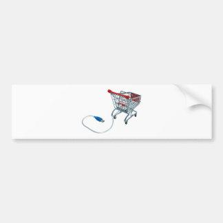 OnlineShopping040909a Bumper Sticker