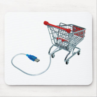 OnlineShopping040909a Mouse Pad
