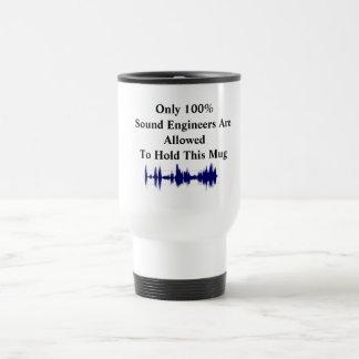 Only 100%Sound Engineers Mug