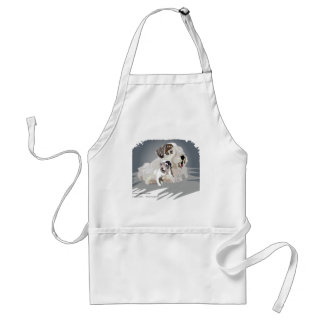Only 1 pup left adult apron
