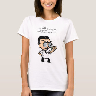Only 6% of America's scientists identify T-Shirt