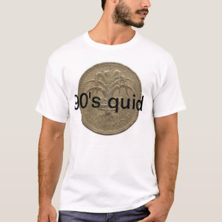 only 90's quids will get this T-Shirt