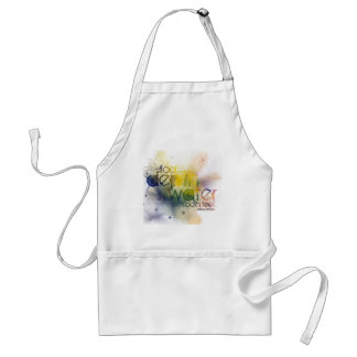 only a fool tests the depth of the water with ... adult apron