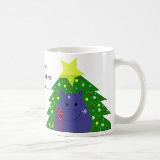 Only a Hippopotamus Will Do Coffee Mug