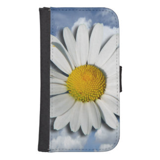 Only a Marguerite Blossom + your text & ideas Phone Wallets
