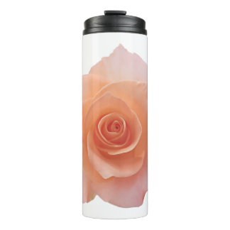 Only a Rose Blossom + your backgr. & ideas Thermal Tumbler
