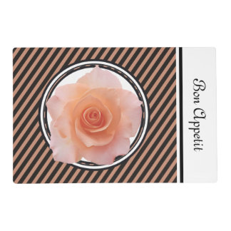 Only a Rose Blossom + your text & ideas Placemat