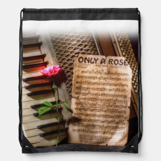 Only a Rose II Drawstring Bag