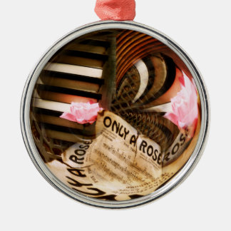 Only A Rose Metal Ornament