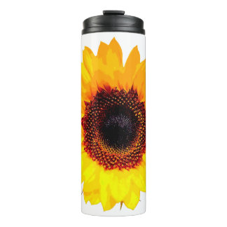 Only a Sunflower Blossom + your backgr. & ideas Thermal Tumbler