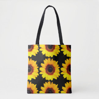 Only a Sunflower Blossom + your backgr. & ideas Tote Bag