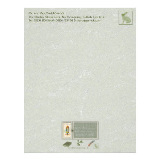 Only a Thimble Stationery Custom Letterhead