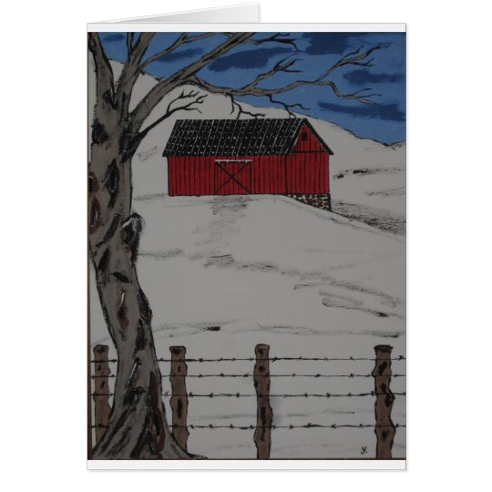 Only A Winter Day Card