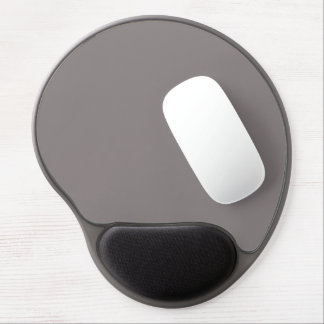Only aluminum gray rustic solid color gel mouse pad