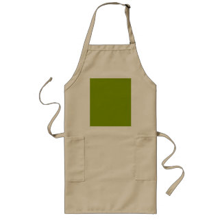 Only apple green cool rustic solid color OSCB43 Long Apron