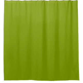 Green Curtains apple green curtains : Solid Yellow Shower Curtains | Zazzle