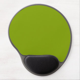 Only apple green rustic solid color background gel mouse pad